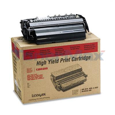 IBM 4019 TONER CARTRIDGE BLACK HY
